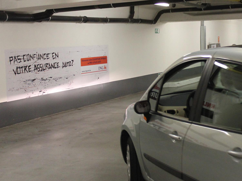Parking Advertising